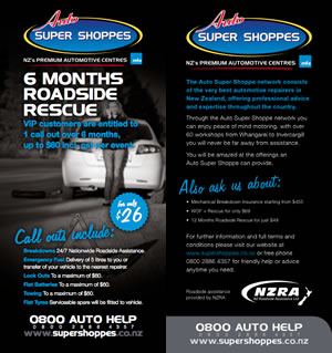 6 Month Roadside Rescue service from Best Automotive
