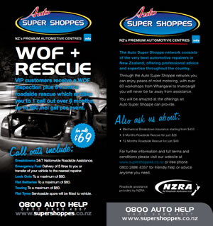 WOF and Rescue service from Best Automotive